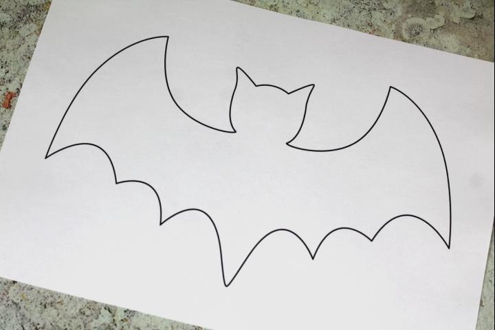 free bat template