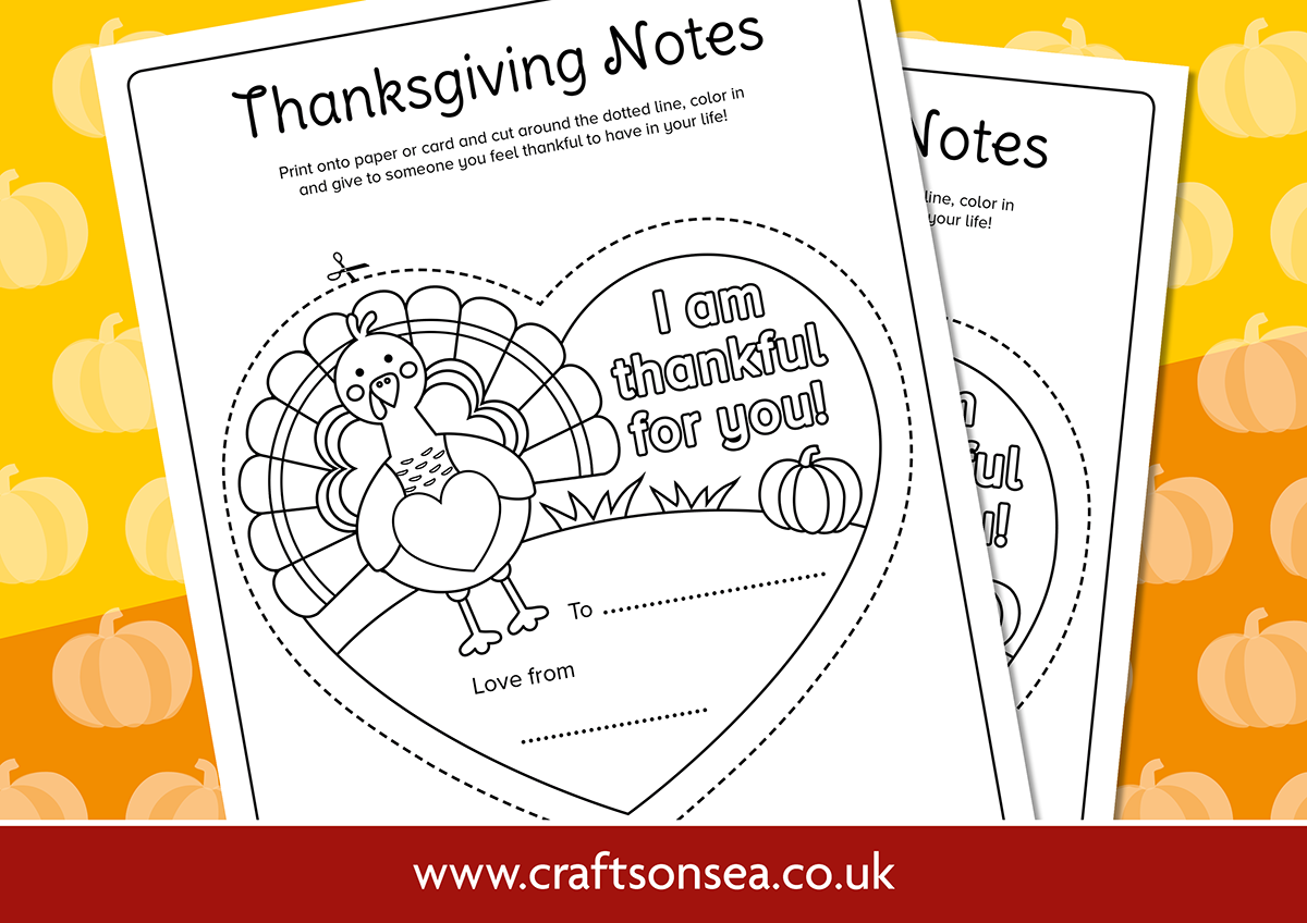 thanksgiving notes for kids to color
