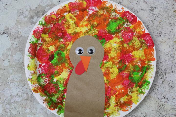 turkey craft preschoolers